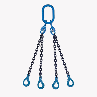 3&4 Legs Lifting Chain Sling - Clevis Selflock Hook - G100