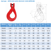 3&4 Legs Lifting Chain Sling - Clevis Self-lock Hook - G80